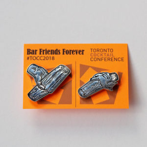 TOCC Enamel Pin | Toronto Cocktail Conference